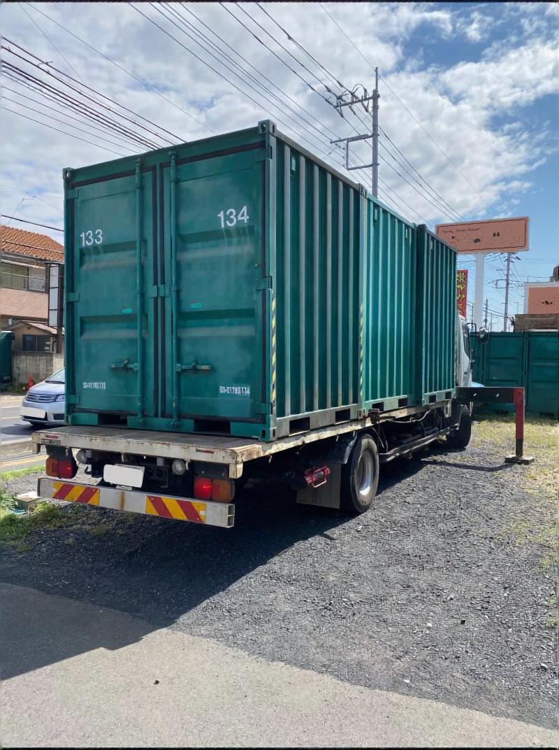 埼玉県T市 ミニコンテナ